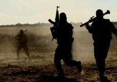 مناورة في غزة الان