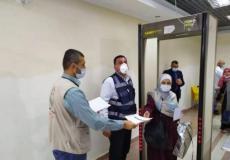 مسافرون يعودون لقطاع غزة مؤخرا
