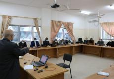 تربية الوسطى تعقد اجتماعاً بالمشرفين التربويين لبحث آليات تقييم الطلبة