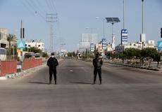 انتشار أمني في غزة