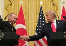 دونالد ترامب والرئيس التركي- أرشيفية