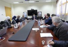 اجتماع هيئة مكافحة الفساد ووزارة الصحة