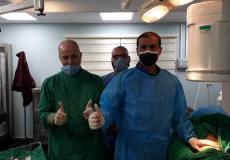 اجراء خمس عمليات جراحية ضخمة في مستشفى الحياة بمدينة غزة