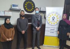 مركز شمس يستقبل رئيس القسم السياسي في القنصلية البلجيكية العامة في القدس
