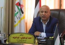 عضو اللجنة التنفيذية لمنظمة التحرير الفلسطينية ورئيس دائرة شؤون اللاجئين أحمد ابو هولي