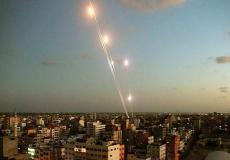 قصف غزة - ارشيف