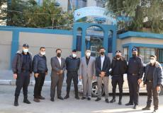جامعة فلسطين تواصل زيارتها لمراكز الشرطة في القطاع
