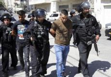 اعتقال فلسطيني من الضفة الغربية - أرشيفية