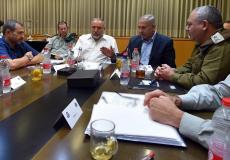 الكابنيت الاسرائيلي يجتمع بشأن غزة - أرشيفية