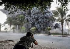 قصف إسرائيلي على غزة - أرشيفية