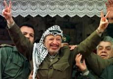 الرئيس الفلسطيني الراحل ياسر عرفات