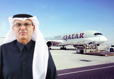 تصريحات السفير العمادي حول مطار غزة
