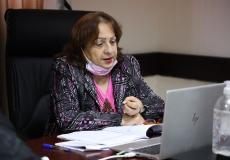 وزيرة الصحة الفلسطينية مي الكيلة