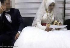 انقاذ عروس  تبلغ من العمر 14عاماً في اللحظة الأخيرة