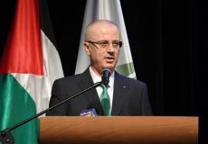 رامي الحمد الله رئيس الوزراء الفلسطيني