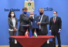 توقيع اتفاقية بقيمة 5.8 مليون يور لدعم البنية التحتية في الضفة