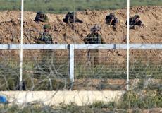 الجيش الإسرائيلي على حدود غزة - أرشيفية