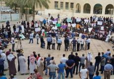 إضراب أصحاب حافلات نقل الطلاب بالنقب