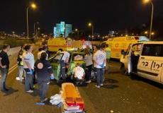 حادث طرق في تل أبيب