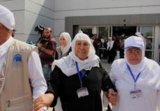 حجاج قطاع غزة في معبر رفح البري - أرشيف