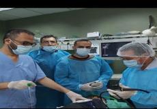 """فريق طبي مشترك ينجح بإنقاذ حياة طفل من غزة بعد ابتلاعه مسمارا بطول """"6 سم"""""""