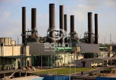محطة كهرباء غزة