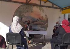مدرسة ابن زيدون المشتركة بالوسطى تجتمع بمعلمات المرحلة الأساسية