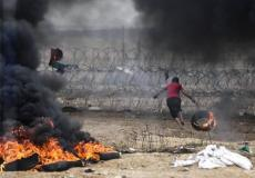 السياج الفاصل شرق غزة - أرشيفية