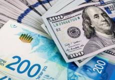ارتفاع سعر صرف الدولار مقابل الشيكل اليوم