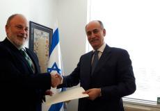 السفير الأردني لدى اسرائيل غسان المجالي