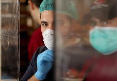 إجراءات كورونا في غزة