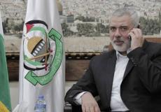 اسماعيل هنية -  رئيس المكتب السياسي لحركة حماس