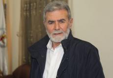 زياد النخالة الأمين العام لحركة الجهاد الإسلامي