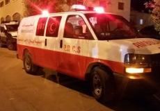 اسعاف فلسطيني شجار في العيزرية جنوب شرق القدس - توضيحية