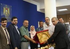 الثقافة بغزة تكرِّم وكيلها البرعاوي لبلوغه سن التقاعد