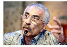 الكاتبوالاديب والصحفي الفلسطيني خيري منصور