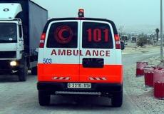 سيارات إسعاف فلسطينية