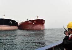 سفن ناقلة في مضيق هرمز