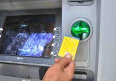 صراف آلي - وزارة المالية غزة