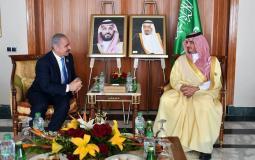 محمد اشتية رئيس الوزراء يلتقي الأمير عبد العزيز بن سعود بن عبد العزيز وزير الداخلية السعودي
