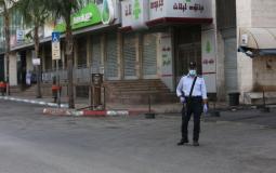 إغلاق جزئي في نابلس وباقي المحافظات الفلسطينية - أرشيف