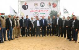 افتتاح فعاليات إحياء يوم الشهيد في قطاع غزة