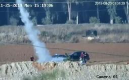 تجربة إطلاق الصواريخ للمجموعة الإسرائيلية