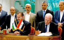 لقاء سابق بين فتح وحماس في القاهرة