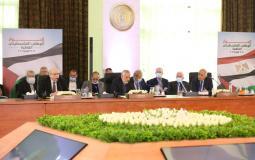 جلسة الحوار الفلسطيني في القاهرة