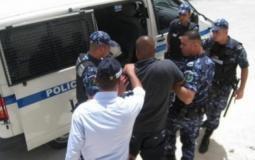الشرطة الفلسطينية تقبض على متهم