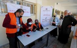 تسجيل الناخبين في قطاع غزة