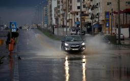 أمطار في غزة - ارشيف