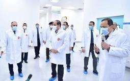 السيسي تواجد في افتتاح مدينة الدواء