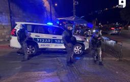 الاحتلال يغلق الطريق المؤدي لباب الأسباط أمام المركبات